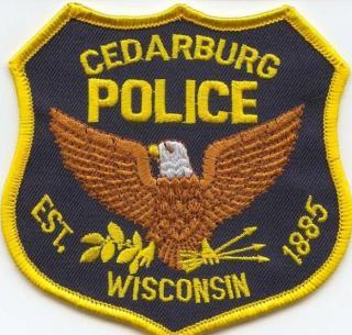 Cedarburg Police Department Patch